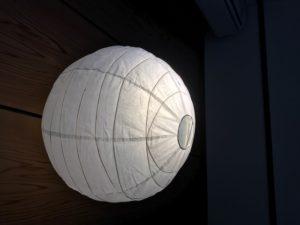 和紙照明カバー